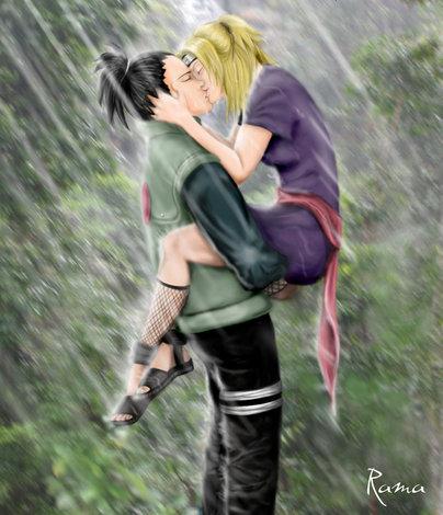 ~ ShikaTema FC 2.0 (Actualizado) ~ Kiss-under-the-rain-by-ramachan_mbs