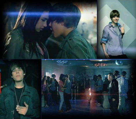 Baby Justin Bieber Music Video on Justin Bieber Baby Music Video Premiere 1 Lj5 Jpg