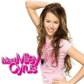 Miley Cyrus on Miley Circus Hannah Montana