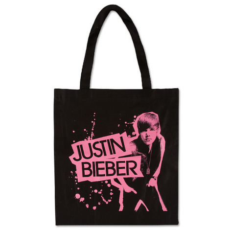 Justin Bieber Cut Out Tote Bag