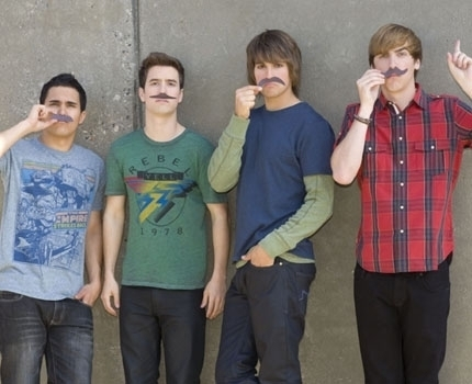 Moustache!!!!  - big-time-rush fan art