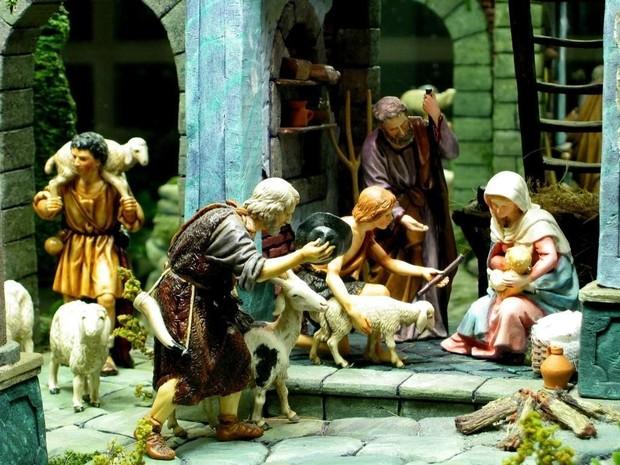 Fondo de Navidad religioso BELEN