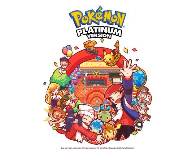 POKEMON: fondo platinium Ash y sus amigos