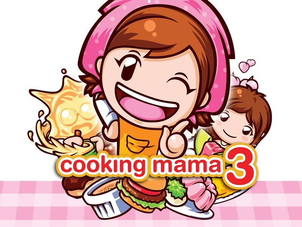 Cooking Mama 3: Nintendo DS 1024x768