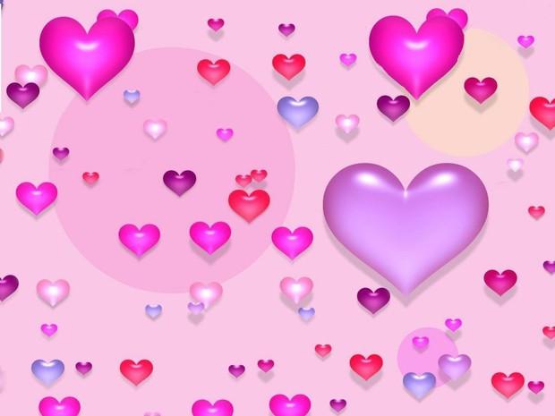 Búrbujas de corazón