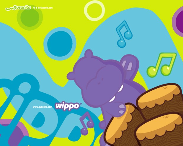 Wippo color de la música