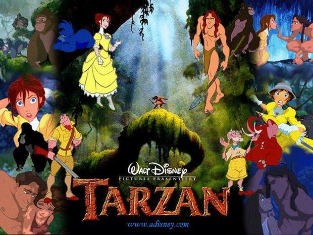 Tarzán y sus amigos