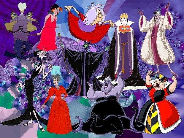 Las brujas de Disney