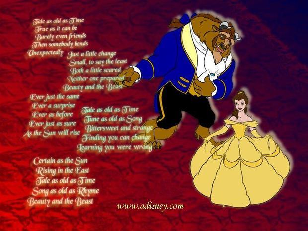 La bella y la bestia baila