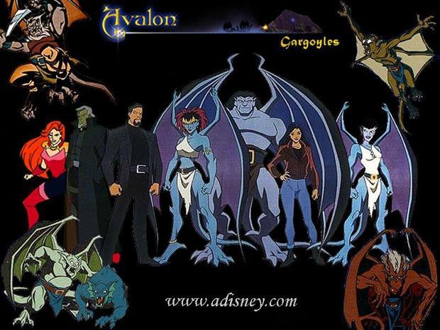 las gárgolas de Avalon