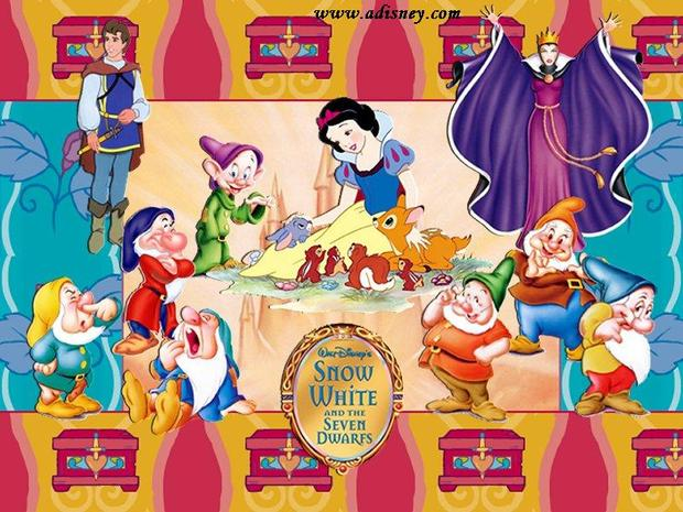 Blancanieves y sus amigos