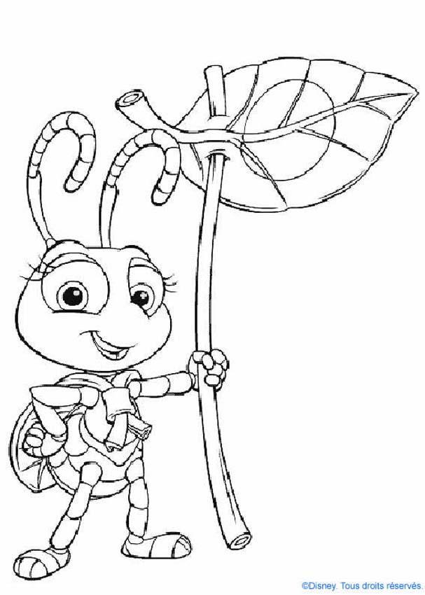 Dibujos para colorear dot  hormiga exploradora  eshellokidscom