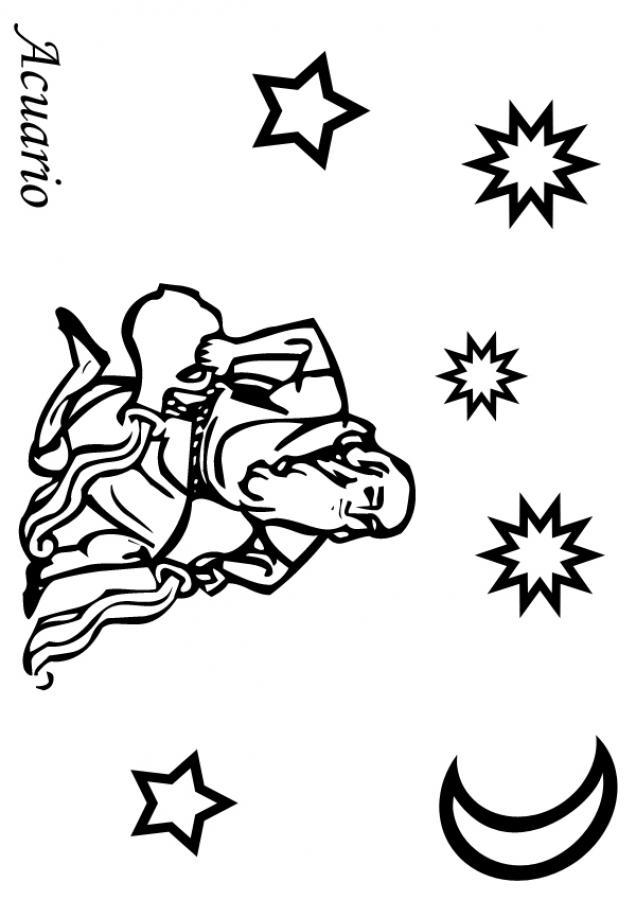 Dibujos para colorear acuario - es.hellokids.com