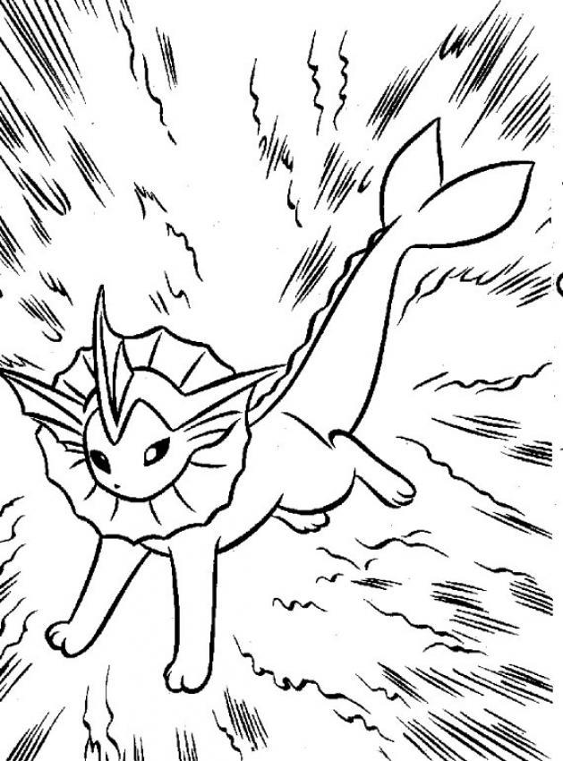 Dibujos para colorear POKEMON - 94 dibujos manga para colorear y ...