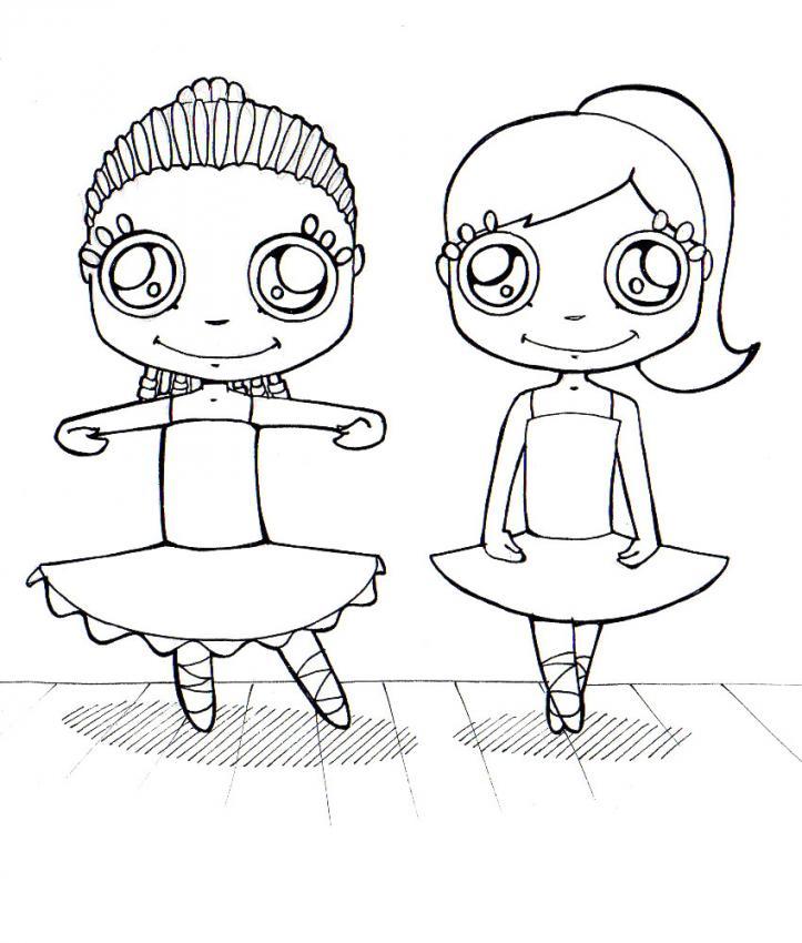 Dibujos para colorear gimnasia - es.hellokids.com