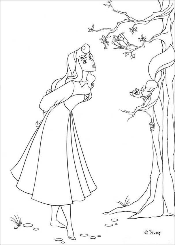 Dibujos para colorear la bella y el príncipe 4 - es.hellokids.com