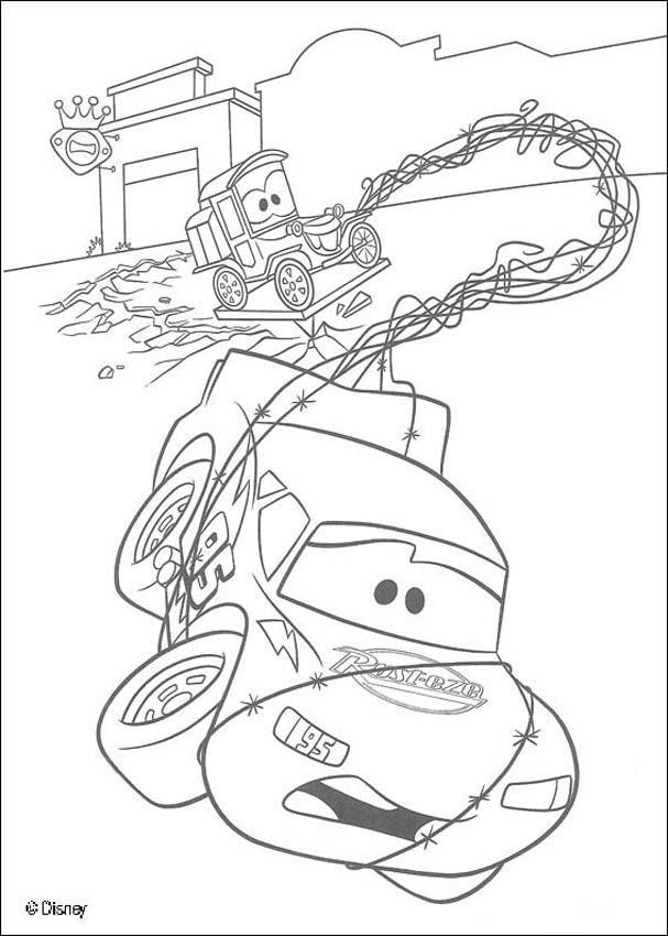 Worksheet. Dibujos para colorear cars 3  eshellokidscom