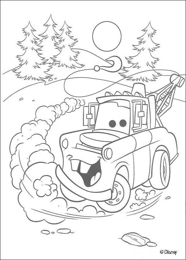 Dibujo para colorear : Cars 41