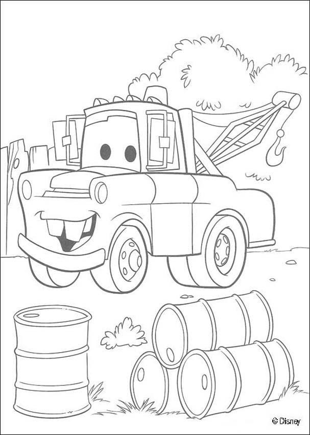Dibujos para colorear cars 5  eshellokidscom