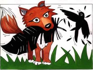 corbeau-et-renard