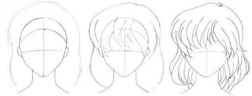 Aprender A Dibujar Dibujar Una Chica Manga Es Hellokids Com
