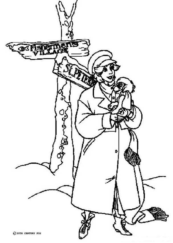 Dibujos para colorear anastasia romanov - es.hellokids.com