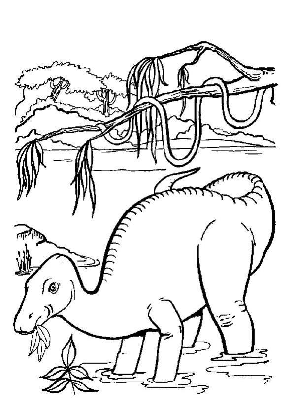 dinotopia coloring pages - photo#28