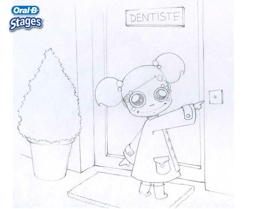 Dibujos para colorear el dentista - es.hellokids.com