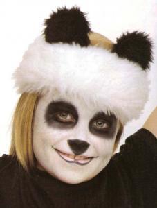 El panda - Manualidades para niños - Manualidades para cada fiesta del año - Manualidades infantiles CARNAVAL - Maquillajes de CARNAVAL