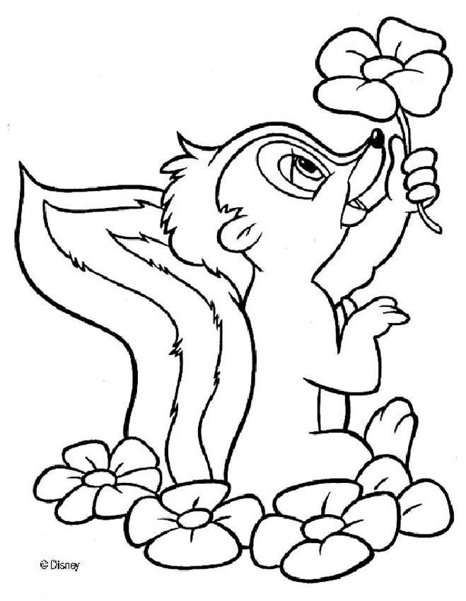 Dibujos para colorear flor 5 - es.hellokids.com