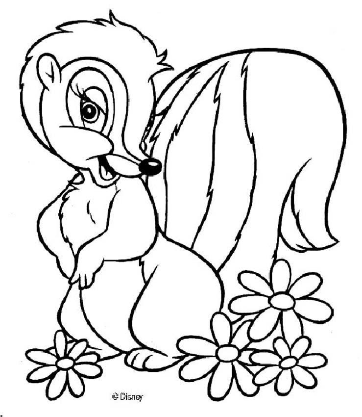 Dibujos para colorear flor 6 - es.hellokids.com