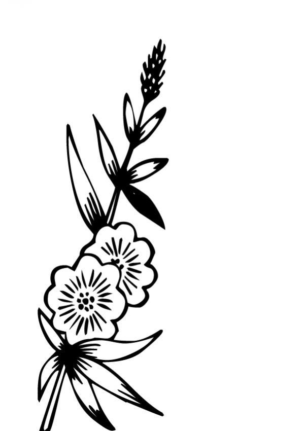 Dibujos para colorear flor n 12 - Coloriage martinique ...