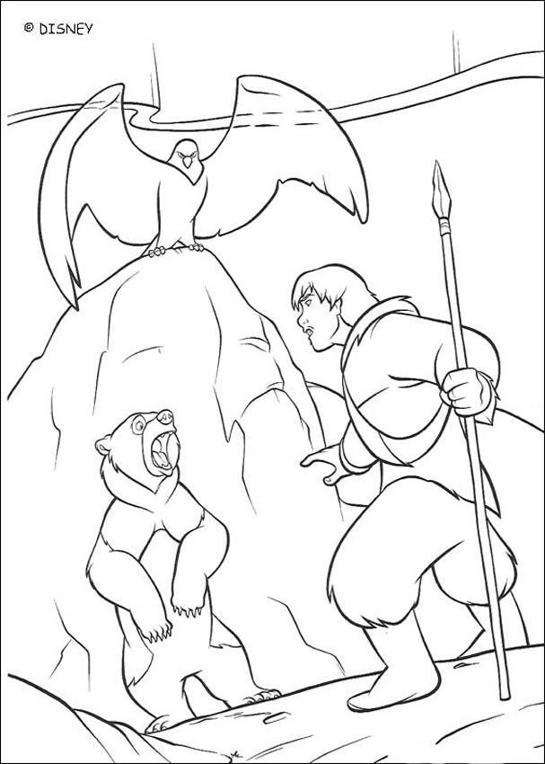 Dibujo para colorear : Tierra de Osos 31