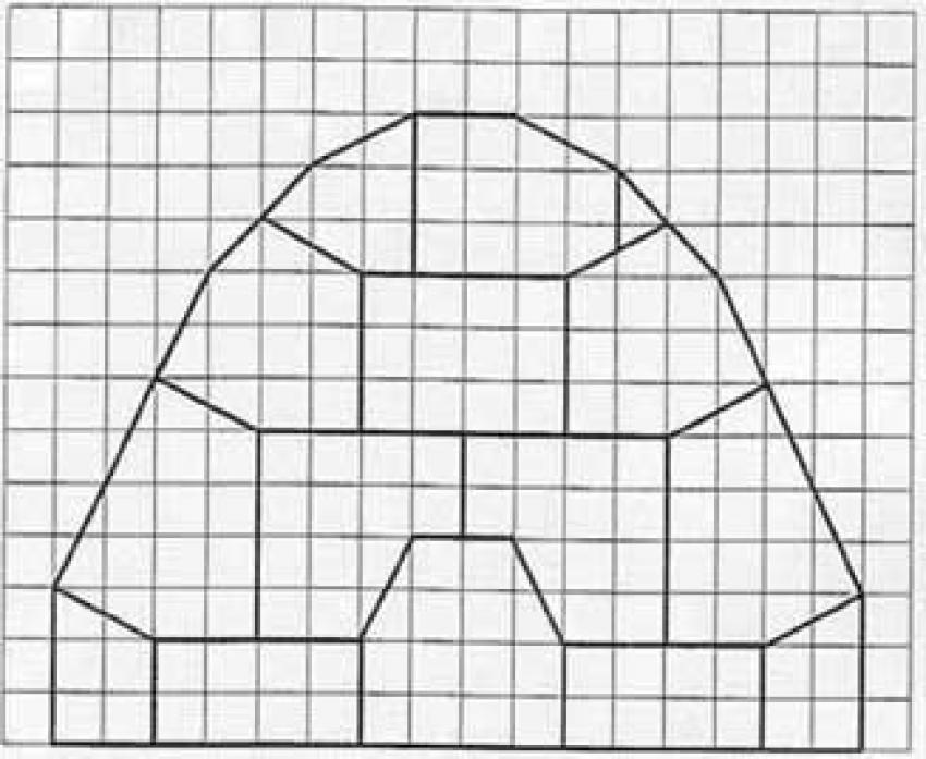 Aprender a dibujar juego de geometria iglu - es.hellokids.com
