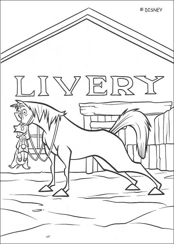 Dibujos para colorear vacas vaqueras 15 - es.hellokids.com