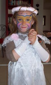 MARIPOSA para niñas - Manualidades para niños - MAQUILLAJE para niños - Maquillaje MARIPOSA