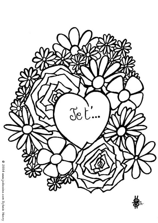 Dibujos para colorear corazn con manos  eshellokidscom