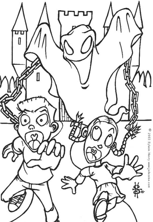 Coloring Pages Ghost