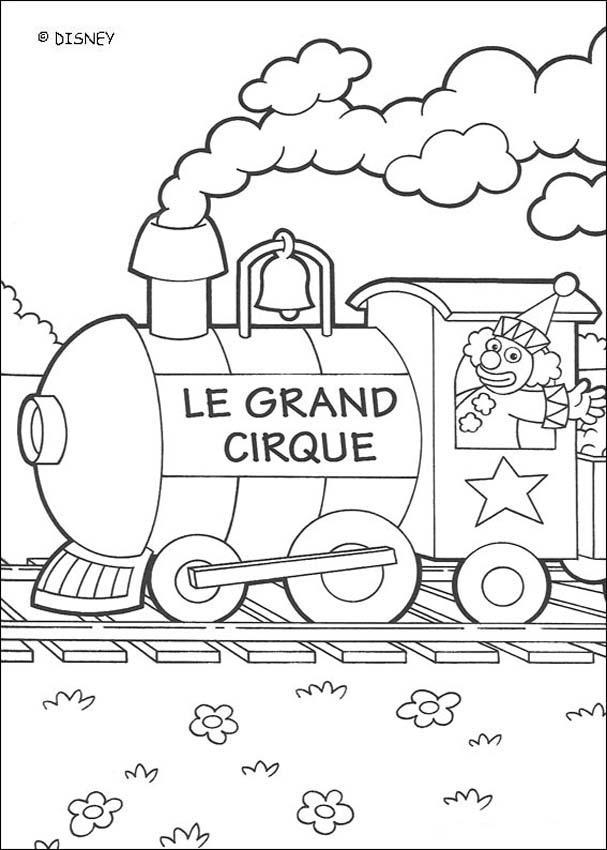 Dibujos para colorear el gran circo 2  eshellokidscom