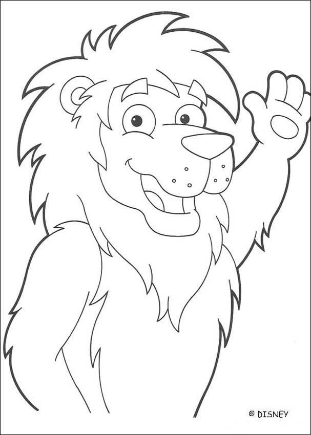 Dibujos para colorear el len amigo de dora  eshellokidscom