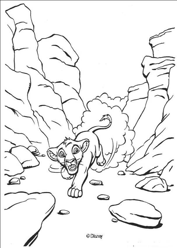 Dibujos para colorear el rey león 61 - es.hellokids.com