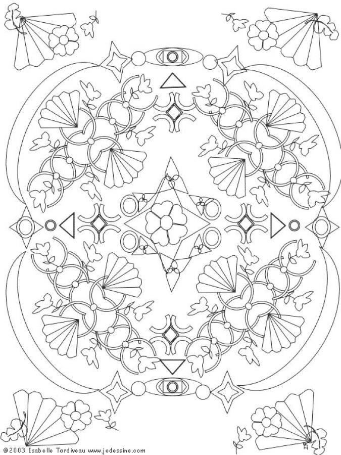 Dibujos para colorear MANDALAS para jovenes - 17 páginas de mandalas ...