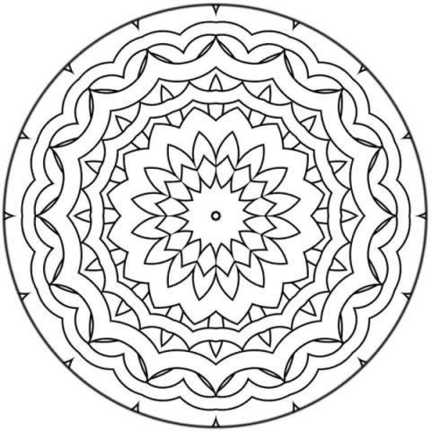 Dibujos para colorear mosaica - es.hellokids.com