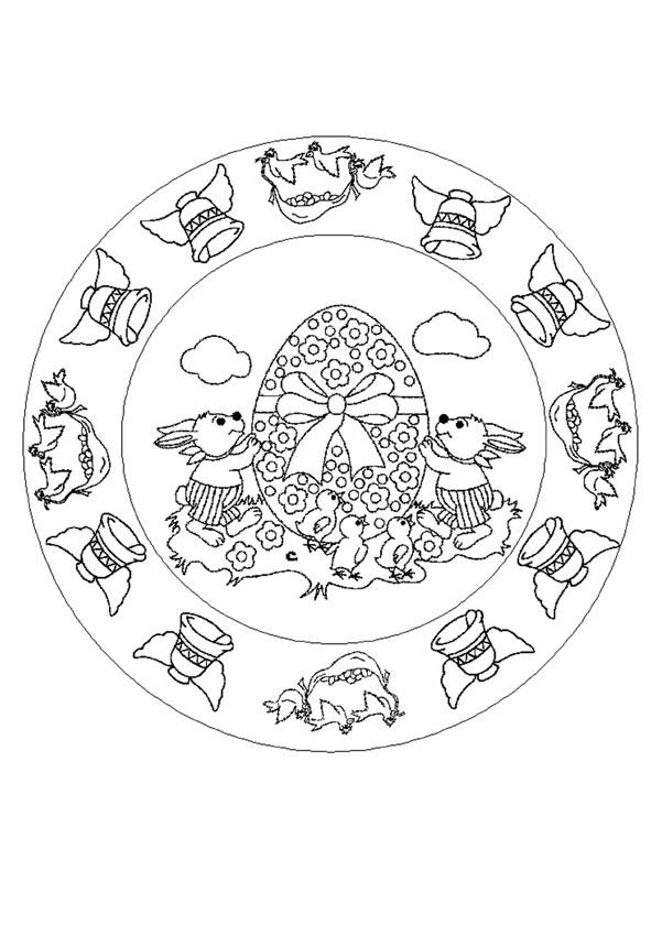 Dibujos para colorear mandalas - es.hellokids.com
