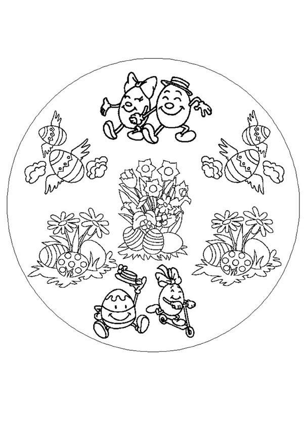 Primavera : Dibujos para Colorear, Manualidades para niños, Dibujo ...