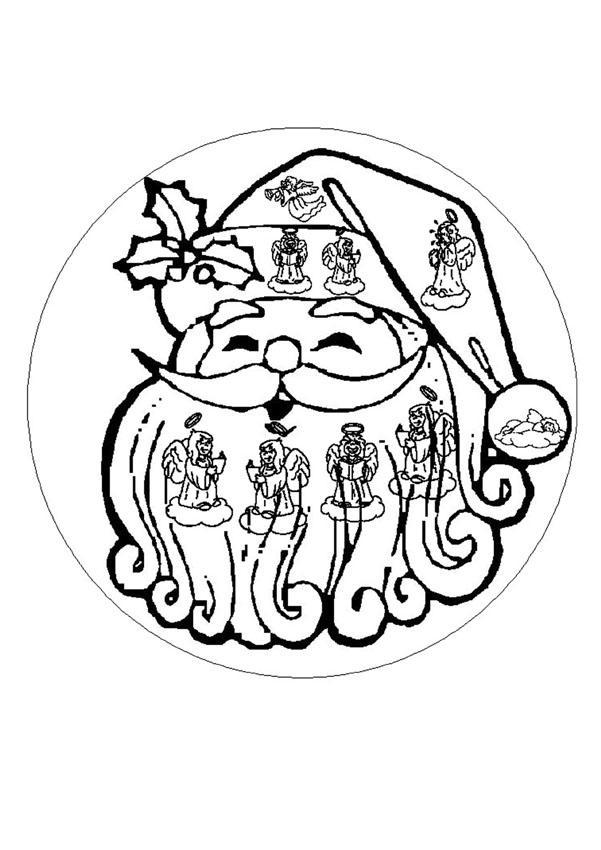 Dibujos Para Colorear Mandala De Navidad Eshellokidscom