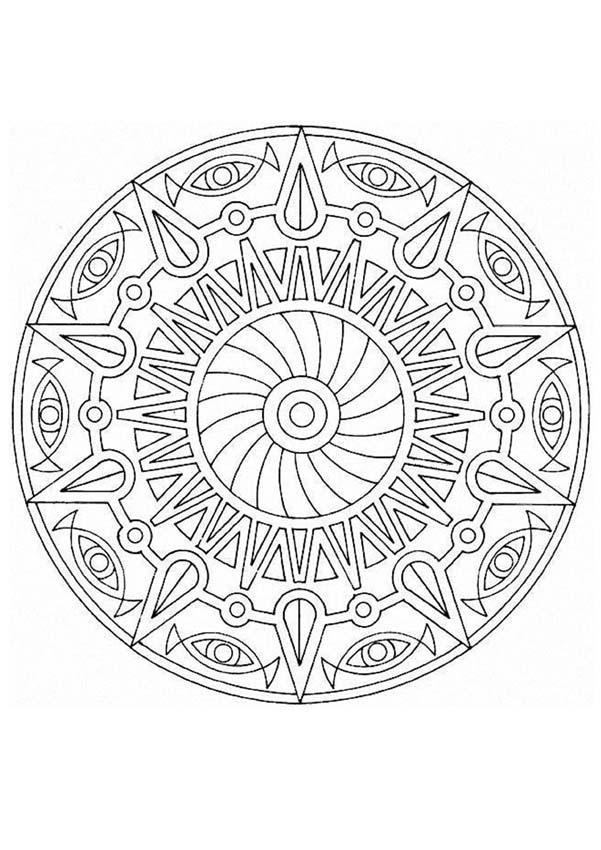 Dibujos de MANDALAS para imprimir - 15 páginas de mandalas para ...