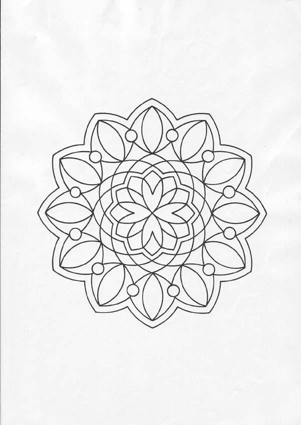 Mandalas De Flores Para Colorear 26 Páginas De Mandalas Para