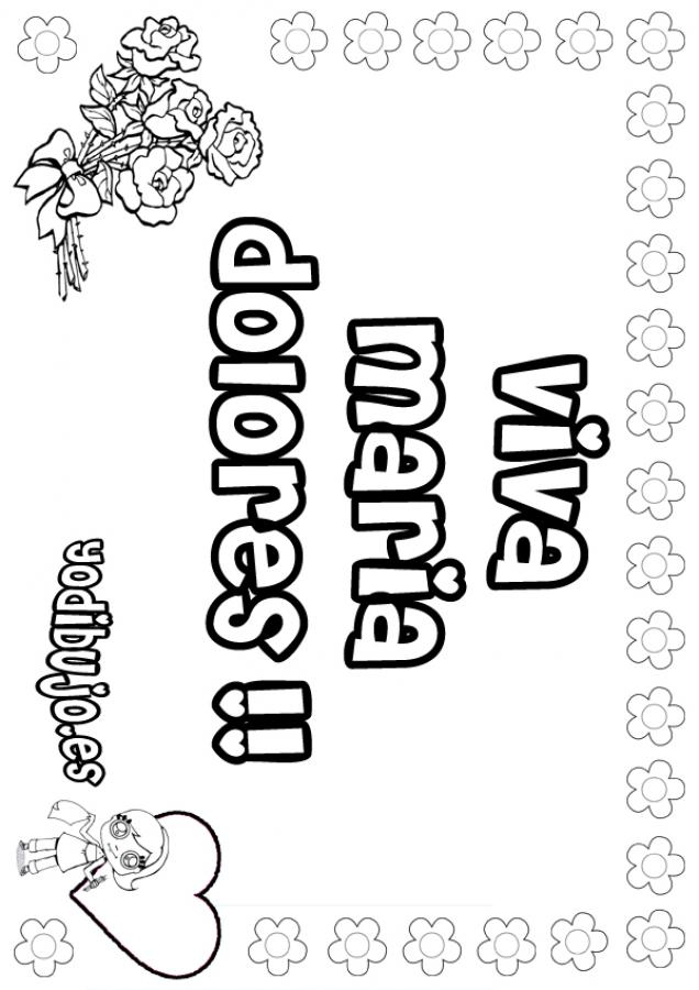Dibujos para colorear malena - es.hellokids.com