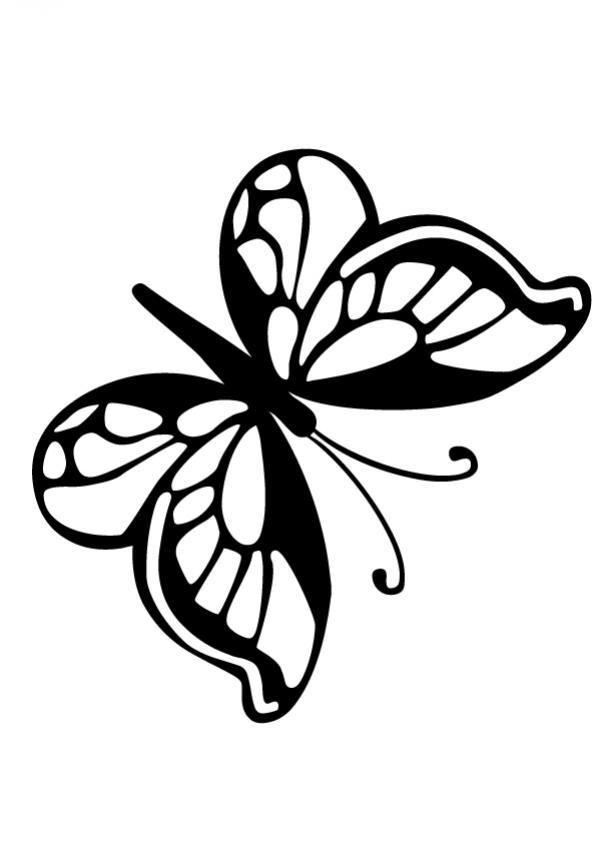 Lujoso Imprimir Para Colorear Mariposa Monarca Ideas - Dibujos Para ...